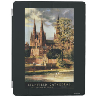 View of Lichfield Cathedral iPad Cover
