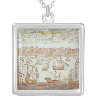 View of Lisbon Silver Plated Necklace