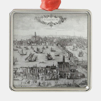 View of London Christmas Ornament