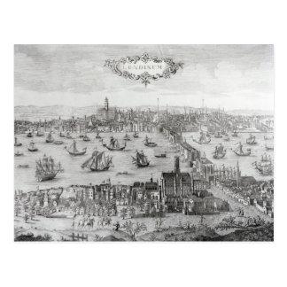View of London Postcard