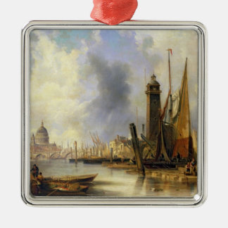 View of London with St. Paul's Christmas Ornament