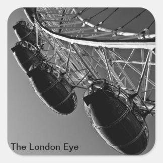 "View of Londons Famous "" London Eye "" a Ferris Whe Sticker"