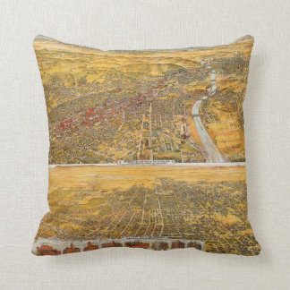 View Of Los Angeles, 1894 Cushion