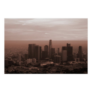 View of Los Angeles Poster