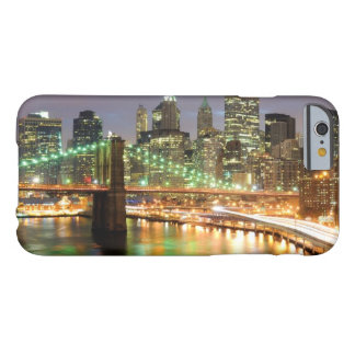 View of Lower Manhattan and the Brooklyn Bridge Barely There iPhone 6 Case