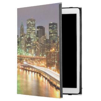 "View of Lower Manhattan and the Brooklyn Bridge iPad Pro 12.9"" Case"