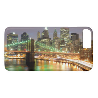 View of Lower Manhattan and the Brooklyn Bridge iPhone 7 Plus Case