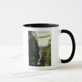 View of Lynn Canyon Suspension Bridge Mug