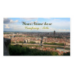 View of Lyon Business Card Template