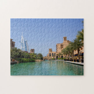 View Of Madinat Jumeirah, Dubai Jigsaw Puzzle