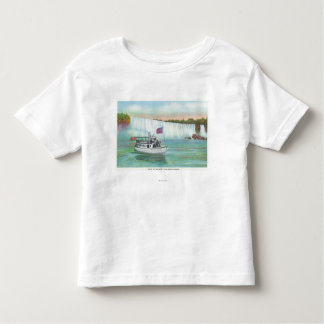 View of Maid of the Mist Boat T-shirts