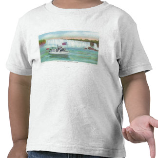 View of Maid of the Mist Boat Shirt