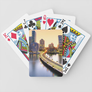 View of Mandarin Oriental Miami with reflection Bicycle Playing Cards