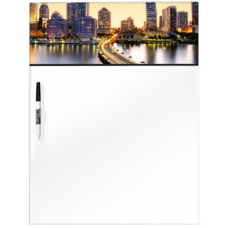 View of Mandarin Oriental Miami with reflection Dry Erase Board