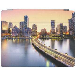 View of Mandarin Oriental Miami with reflection iPad Cover