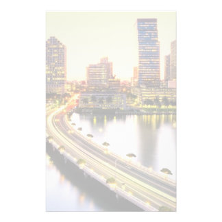 View of Mandarin Oriental Miami with reflection Personalized Stationery