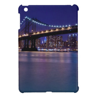 View of Manhattan bridge at night Case For The iPad Mini