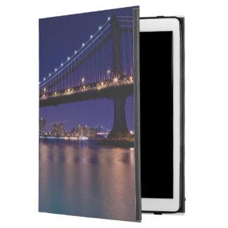 "View of Manhattan bridge at night iPad Pro 12.9"" Case"