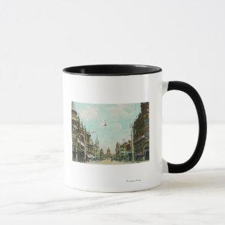 View of Mariposa Street Facing City Hall Mug