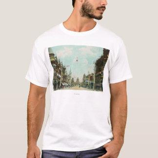 View of Mariposa Street Facing City Hall T-Shirt
