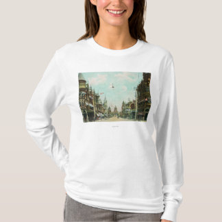 View of Mariposa Street Facing City Hall T-Shirt