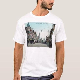 View of Mariposa StreetFresno, CA T-Shirt