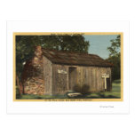 View of Mark Twain Cabin on Jackass Hill Postcards