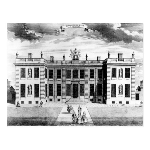 View of Marlborough House in Pall Mall Post Card
