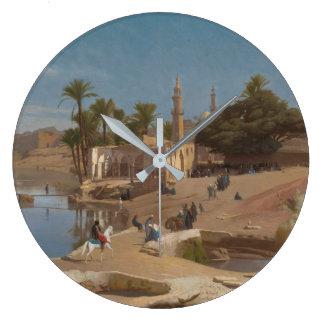 View of Medinet El-Fayoum Wallclock