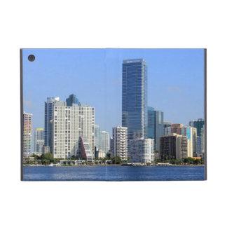 View of Miami Skyline Case For iPad Mini