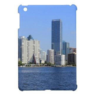 View of Miami Skyline iPad Mini Cover