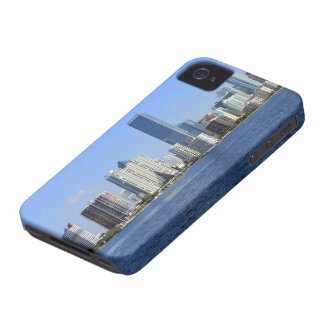 View of Miami Skyline iPhone 4 Case-Mate Cases