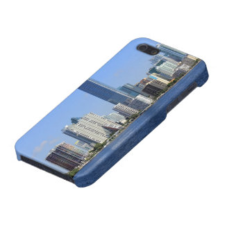 View of Miami Skyline iPhone 5/5S Covers