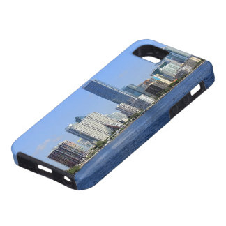 View of Miami Skyline iPhone 5 Cover