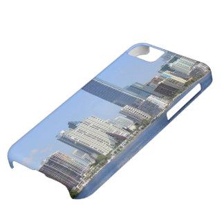 View of Miami Skyline iPhone 5C Case