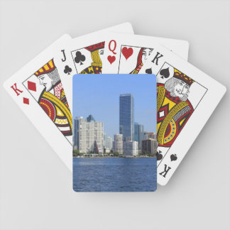 View of Miami Skyline Playing Cards