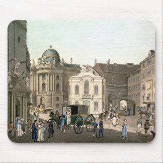 View of Michaelerplatz showing the Burgtheater Mouse Mat