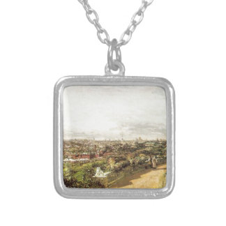 View of Moscow from the house of G.I. Chludov by A Square Pendant Necklace