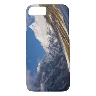 View of Mount Jichu Drake, Bhutan. iPhone 8/7 Case