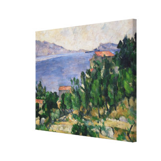 View of Mount Marseilleveyre and the Isle of Canvas Print