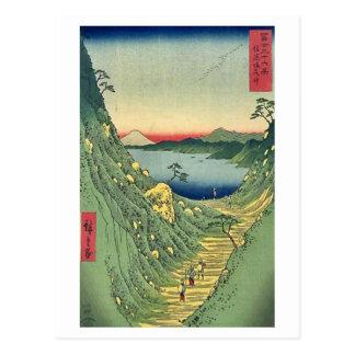 View of Mt Fuji 29 Postcard