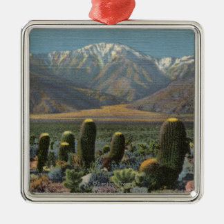 View of Mt. San Jacinto Near Palm Springs Christmas Ornament