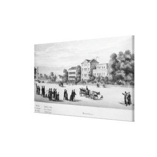 View of Munich, 1869 Canvas Print