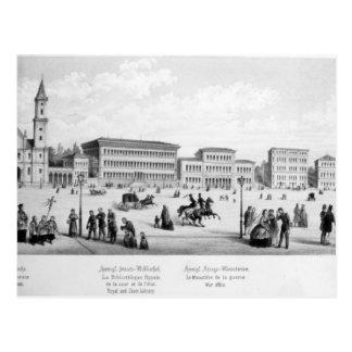 View of Munich, 1869 Postcard