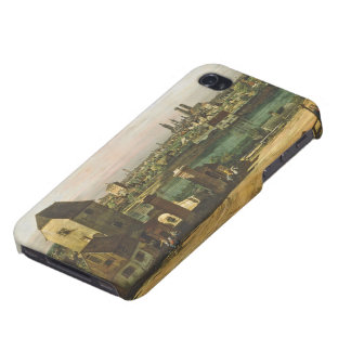 View of Munich, c. 1761 (oil on canvas) iPhone 4 Case