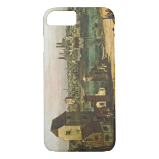 View of Munich, c. 1761 (oil on canvas) iPhone 8/7 Case