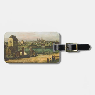View of Munich, c. 1761 (oil on canvas) Luggage Tag