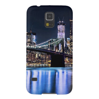 View of New York's Brooklyn bridge reflection Case For Galaxy S5