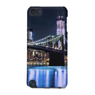 View of New York's Brooklyn bridge reflection iPod Touch 5G Cases