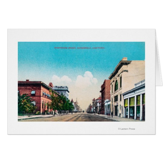 View of Nineteenth StreetBakersfield, CA Card